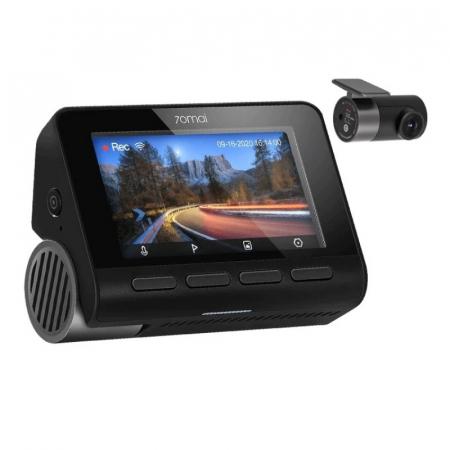 Pachet camera autoDVR Xiaomi 70MAI A800S cu camera spate RC06,4K,Sony IMX415, 140°, Super Night Vision, ADAS, GPS, Monitorizare parcare0