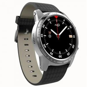 Smartwatch AllCall W1, 3G, 2GB RAM, 16GB ROM, AMOLED 1.39inch, Android 5.1, MTK MT6580M QuadCore, Bluetooth v4.0, GPS, 400mAh, Gri inchis3