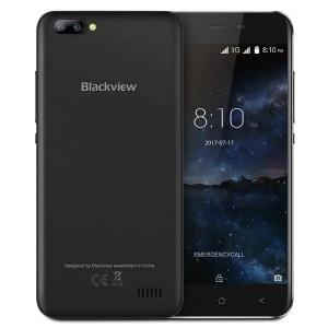 Telefon mobil Blackview A7, 3G, IPS5.0inch, 1GB RAM, 8GB ROM,MediaTek MT6580QuadCore, ARM Mali-400, Android 7.0, 2800mAh, Negru0