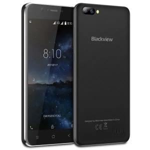 Telefon mobil Blackview A7, 3G, IPS5.0inch, 1GB RAM, 8GB ROM,MediaTek MT6580QuadCore, ARM Mali-400, Android 7.0, 2800mAh, Negru1