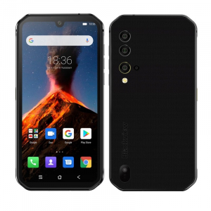 Telefon mobil Blackview BV9900, 4G, IPS 5.84inch, 8GB RAM, 256GB ROM, Android 9.0, Helio P90 OctaCore, NFC, 4380mAh, Dual SIM, Negru0