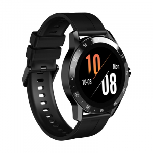 Smartwatch Blackview X1, LCD 1.3inch curbat 3D, 64MB ROM, Nodic nRF52832, Bluetooth v5.0, 260mAh, Curea cadou, Negru1