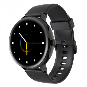Smartwatch Blackview X2, LCD 1.3inch curbat 2D, Bluetooth, Control muzica, Waterproof 5ATM, 260mAh, Negru1