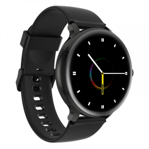 Smartwatch Blackview X2, LCD 1.3inch curbat 2D, Bluetooth, Control muzica, Waterproof 5ATM, 260mAh, Negru2