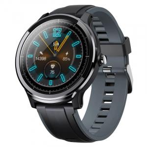 "Smartwatch Kospet Probe, LCD 1.3"",Nordic NRF 52832, Bluetooth v4.2, IP68, Suporta inot,  250mAh, Fibra de carbon, Negru/Verde1"