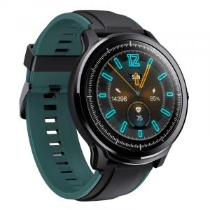 "Smartwatch Kospet Probe, LCD 1.3"",Nordic NRF 52832, Bluetooth v4.2, IP68, Suporta inot,  250mAh, Fibra de carbon, Negru/Verde2"