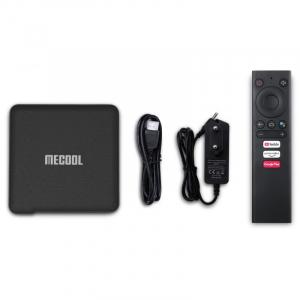 TV Box MECOOL KM1 Classic, 4K, Android 9.0, 2GB RAM, 16GB ROM, S905X3 QuadCore, USB 3.0, HDR10+, Wi-Fi 2T2R, Bluetooth, Chromecast3