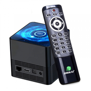 TV Box OMIKAI K1, 6K, Incarcator wireless, Android 10, 4GB RAM, 32GB ROM, Cortex-A53 QuadCore, WiFi, Bluetooth v5.0, Slot memorie0