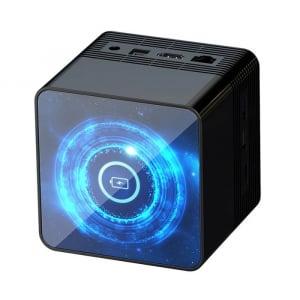 TV Box OMIKAI K1, 6K, Incarcator wireless, Android 10, 4GB RAM, 32GB ROM, Cortex-A53 QuadCore, WiFi, Bluetooth v5.0, Slot memorie2