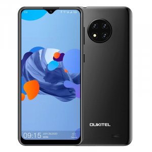 "Telefon mobil Oukitel C19,4G, IPS 6.49"", 2GB RAM, 16GB ROM, Android 10 GO,MTK6737 QuadCore, 4000mAh, Dual SIM, Negru0"
