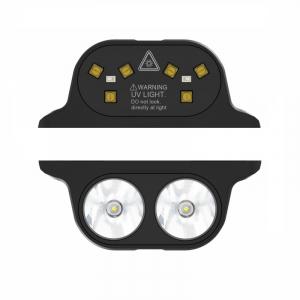 Pachet module pentru Oukitel WP7, Modul Sterilizator UVC cu eficienta 99.99% si Modul Lanterna cu 3 nivele de iluminare si mod SOS0