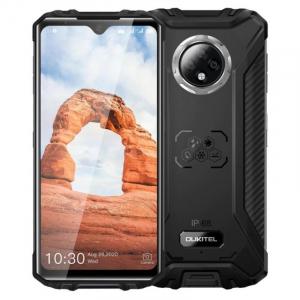 """Telefon mobil Oukitel WP8 Pro, 4G, IPS 6.49"""" Waterdrop, 4GB RAM, 64GB ROM, MediaTek MT6762D OctaCore, NFC, 5000mAh, Dual SIM, Negru0"""