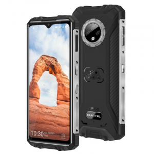 """Telefon mobil Oukitel WP8 Pro, 4G, IPS 6.49"""" Waterdrop, 4GB RAM, 64GB ROM, MediaTek MT6762D OctaCore, NFC, 5000mAh, Dual SIM, Negru2"""