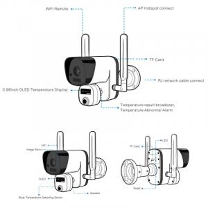 Camera de supraveghere wireless cu senzor termic STAR Y3-TB01, 2MP, 1080P FHD, Wi-Fi, Standalone, Baterie reincarcabila, Slot memorie4