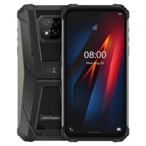 "Telefon mobil Ulefone Armor 8, 4G, IPS 6.1"", 4GB RAM, 64GB ROM, Android 10, Helio P60, Camera submersibila, 5580mAh, Dual SIM, Negru0"