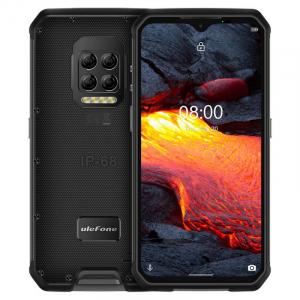 "Telefon mobil Ulefone Armor 9E, 4G, IPS 6.3"", 8GB RAM, 128GB ROM, Android 10, Helio P90, Camera submersibila, 6600mAh, Dual SIM, Negru0"