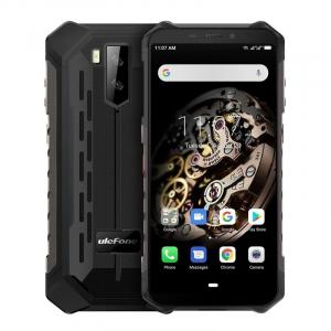 Telefon mobil Ulefone Armor X5, 4G, IPS 5.5inch, 3GB RAM, 32GB ROM, Android 10.0, MT6762OctaCore, Waterproof, 5000mAh, Dual SIM, Negru0