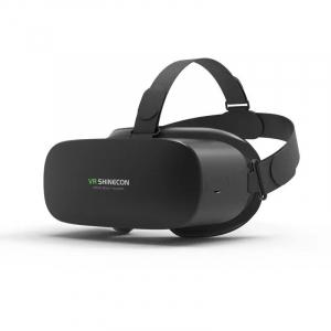 """Ochelari realitate virtuala VR Shinecon AIO5, 6K, 5.5"""", 2GB RAM, 16GB ROM, 1.8GHz QuadCore, Giroscop pe 9 axe, Dual WiFi, 4000mAh, Negru0"""