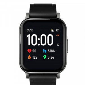 "Smartwatch Xiaomi Haylou LS02, TFT 1.4"" Touch Screen, Multi-sport, Bluetooth v5.0, IP68, 260mAh, Negru1"