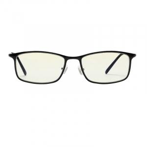 Ochelari de protectie Xiaomi Mi Computer Glasses, UV400, Blocare lumina albastra 40%, Lentile galbene, Usori si confortabili, Negru0
