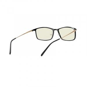 Ochelari de protectie Xiaomi Mi Computer Glasses, UV400, Blocare lumina albastra 40%, Lentile galbene, Usori si confortabili, Negru1