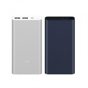 Acumulator extern Xiaomi Mi Power Bank 2S, 10000mAh, Micro-USB, Dual USB, Incarcare rapida, Incarcare la putere mica0