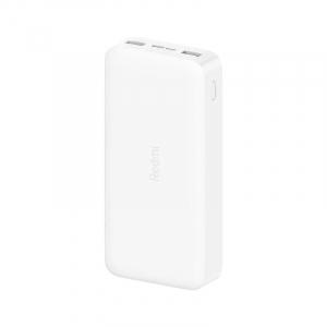 Acumulator extern Xiaomi Redmi Power Bank, 20000mAh, Micro-USB, USB Type-C, Dual USB, Incarcare rapida, Incarcare la putere mica0