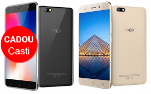 Telefon mobil AllCall Madrid 3G, Ecran Curbat 5.5 inch, Android 7, QuadCore, 1GB RAM 8GB ROM, OTG, 8 MP, Dual Sim0