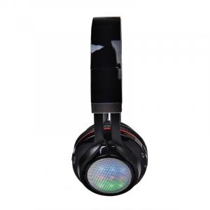 Casti wireless over-ear pliabile Aita AT-BT816 Negru, Bluetooth, Microfon, Slot microSD, Radio FM, Control muzica si volum, 320mAh1
