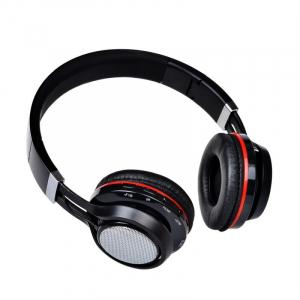 Casti wireless over-ear pliabile Aita AT-BT816 Negru, Bluetooth, Microfon, Slot microSD, Radio FM, Control muzica si volum, 320mAh2