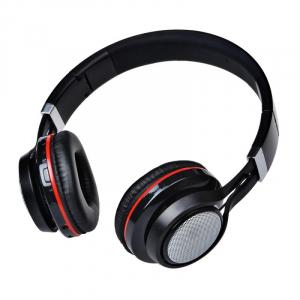 Casti wireless over-ear pliabile Aita AT-BT816 Negru, Bluetooth, Microfon, Slot microSD, Radio FM, Control muzica si volum, 320mAh3