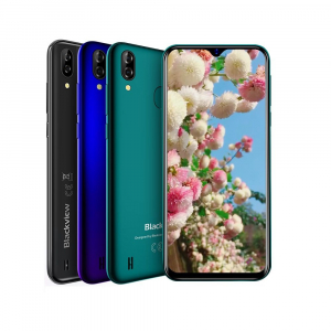 Telefon mobil Blackview A60 Pro, MTK6761 Quad Core, Android 9.0, 4080mAh, 3GB RAM, 16GB ROM, 6.09 inch Waterdrop Screen, Face ID, 4G0