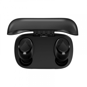 Casti wireless in-ear Blackview AirBuds 1 TWS Negru, Control tactil si vocal, DSP, Bluetooth v5.0, Master-Slave Switch2