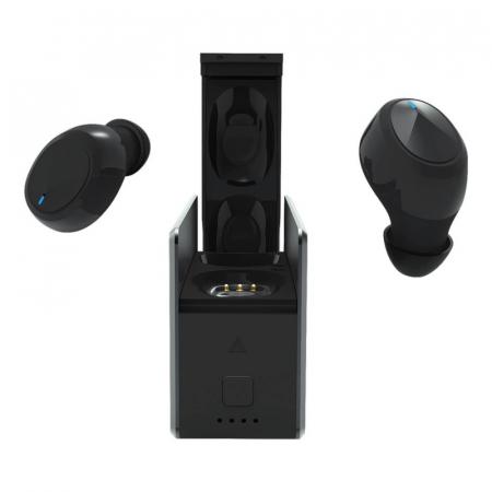 Casti wireless in-ear Blackview AirBuds 2 TWS Negru cu cutie de incarcare si transport [7]