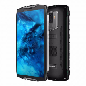 Telefon mobil Blackview BV6800 Pro, IPS 5.7inch, Waterproof IP68, MT6750T OctaCore, 4GB RAM, 64GB ROM, 6580mAh, Incarcare wireless, NFC3