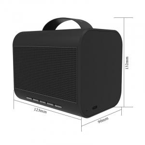 Boxa Portabila Bluedio T-Share 2.0, Wireless, Bluetooth, Microfon, Apel Vocal, Control Vocal2