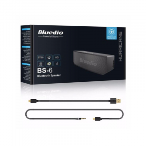 Boxa Portabila Wireless Bluedio BS-6 Stereo, Bluetooth, Cloud Service, Smart Control, Control Vocal, Raspuns Apeluri5