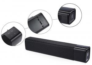 Boxa portabila wireless JKR KR1000 Bluetooth, 20W, AUX, USB, TF, compatibila iOS si Android5