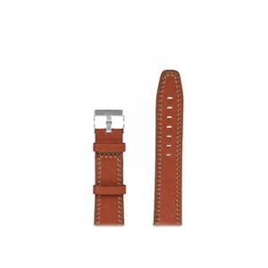 Bratara de schimb din piele pentru smartwatch Xiaomi AmazFit 1, AmazFit 2, 22mm6