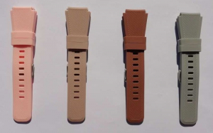 Bratara de schimb din silicon, cu striatii, pentru Xiaomi Huami Amazfit GTR de 47mm, diferite colorituri, usor de utilizat, confortabila si rezistenta12