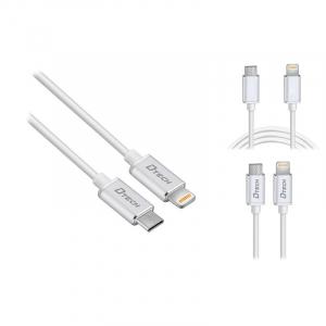 Cablu de incarcare sau de date  usb tip C - lightning  DTech0