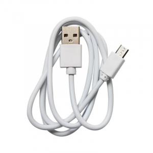 Cablu de alimentare original Micro-USB Alb pentru Oukitel WP6/WP6 Lite0