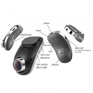 Camera Auto Dash, Cam Star e05, Full HD,  140 grade, MTK 6735 1.3GHz, 512 MB RAM, 4 GB ROM4