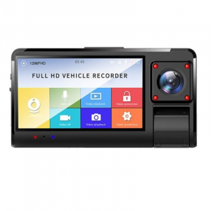 "Camera auto DVR STAR K13 FHD, 3.0"" Touch Screen, 3 Camere, Picture in picture, Slot memorie, 300mAh0"
