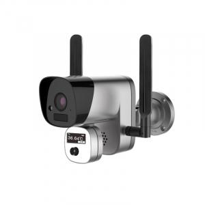 Camera de supraveghere wireless cu senzor termic STAR Y3-TB01, 2MP, 1080P FHD, Wi-Fi, Standalone, Baterie reincarcabila, Slot memorie0