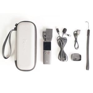 Pachet camera video de buzunar Xiaomi FIMI PALM Gimbal Camera, 4K, Stabilizator pe 3 axe, Touchscreen 1.22inch, Wi-Fi, Bluetooth, 1000mAh2