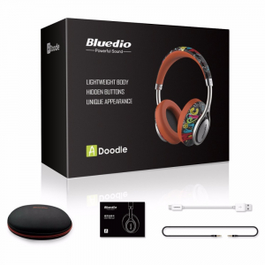 Casti Bluetooth Bluedio A2 (Air) Bluetooth 4.2, Wireless, Stereo, microfon incorporat4