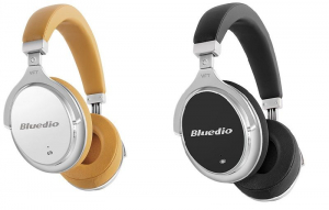 Casti Bluetooth Bluedio Faith 2 (F2), USB Tip C, Wireless, Microfon, anularea zgomotelor0