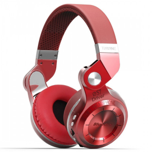 Casti Bluetooth Bluedio T2+ Bluetooth 4.1, Wireless, Stereo, microfon incorporat, microSD, FM0