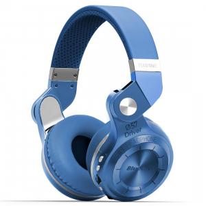 Casti Bluetooth Bluedio T2+ Bluetooth 4.1, Wireless, Stereo, microfon incorporat, microSD, FM1